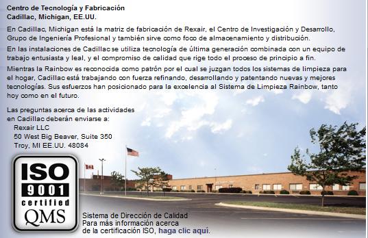Fabrica Rexair